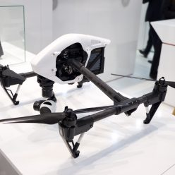 DJI Inspire at Mobile World Congress 2015 Barcelona